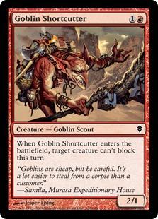 Goblin Shortcutter - Foil