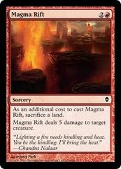 Magma Rift - Foil