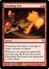 Punishing Fire - Foil