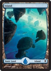 Island (234) - Full Art - Foil