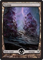 Swamp (239) - Full Art - Foil