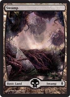 Swamp (241) - Full Art - Foil