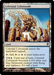 Celestial Colonnade - Foil on Channel Fireball