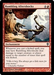 Rumbling Aftershocks - Foil