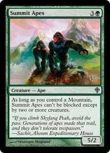 Summit Apes - Foil