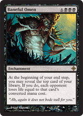 Baneful Omen - Foil on Channel Fireball