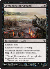 Contaminated Ground - Foil on Channel Fireball