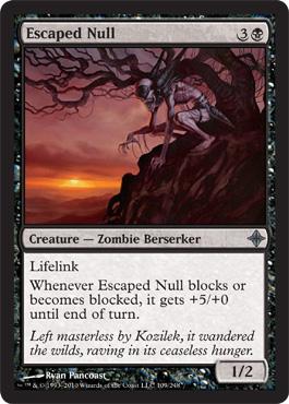Escaped Null - Foil
