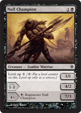 Null Champion - Foil