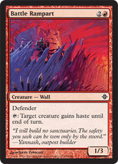 Battle Rampart - Foil on Channel Fireball
