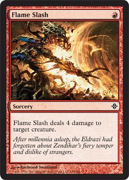 Flame Slash - Foil