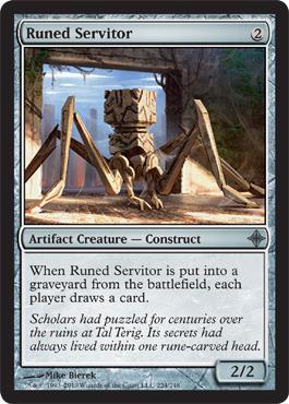 Runed Servitor - Foil