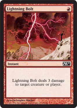 Lightning Bolt - Foil