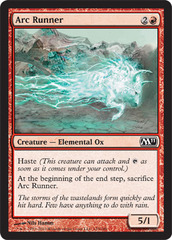 Arc Runner - Foil on Channel Fireball