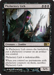 Phylactery Lich - Foil