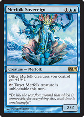 Merfolk Sovereign - Foil
