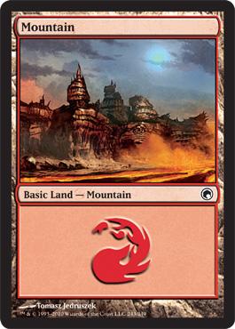 Mountain (243) - Foil