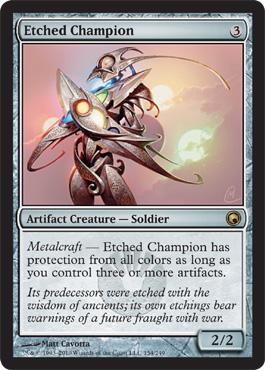Etched Champion - Foil