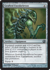 Grafted Exoskeleton - Foil