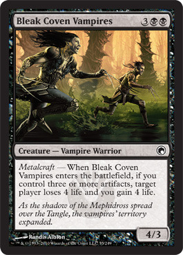 Bleak Coven Vampires - Foil