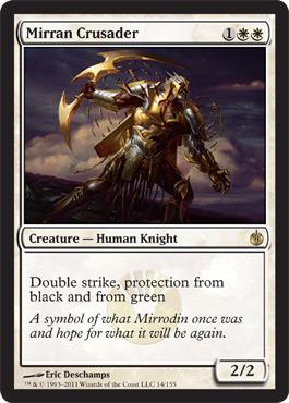 Mirran Crusader - Foil