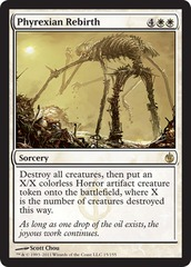 Phyrexian Rebirth - Foil