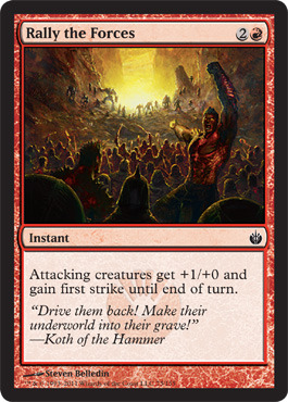 Rally the Forces - Foil