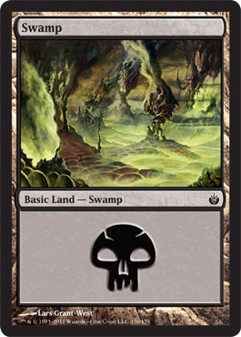 Swamp (150) - Foil