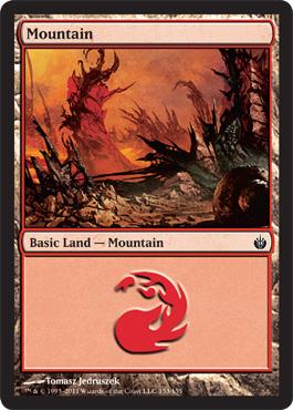 Mountain (153) - Foil
