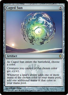 Caged Sun - Foil