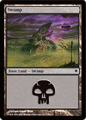 Swamp (170) - Foil
