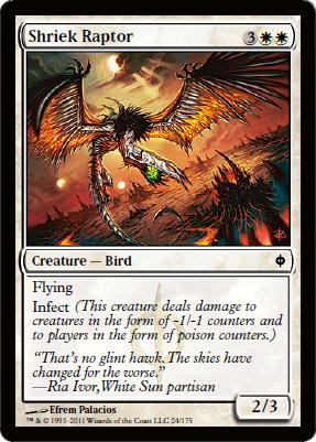 Shriek Raptor - Foil