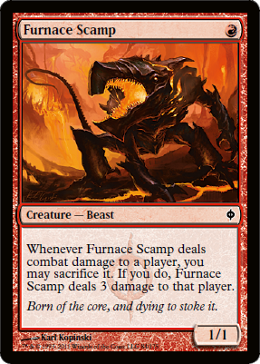Furnace Scamp - Foil