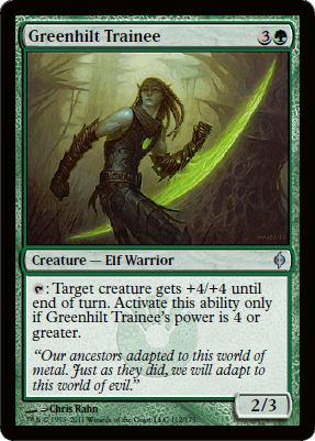 Greenhilt Trainee - Foil