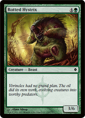 Rotted Hystrix - Foil
