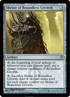 Shrine of Boundless Growth - Foil