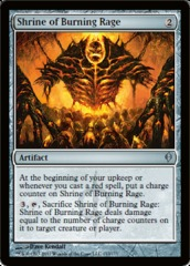 Shrine of Burning Rage - Foil
