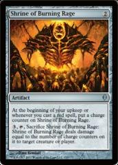 Shrine of Burning Rage - Foil