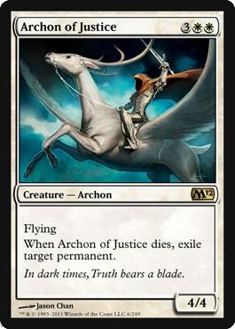Archon of Justice - Foil