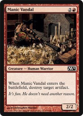 Manic Vandal - Foil
