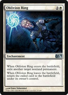 Oblivion Ring - Foil