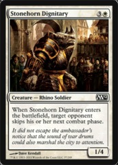 Stonehorn Dignitary - Foil