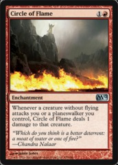 Circle of Flame - Foil