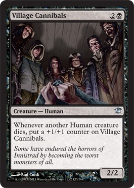 Village Cannibals - Foil