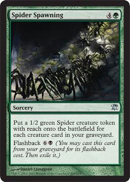 Spider Spawning - Foil