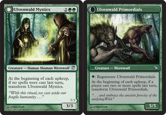 Ulvenwald Mystics // Ulvenwald Primordials - Foil