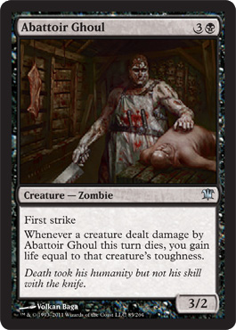 Abattoir Ghoul - Foil