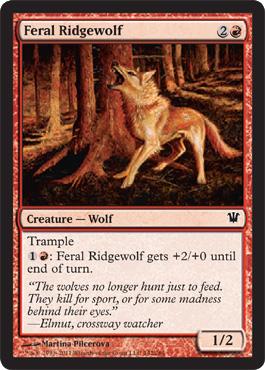 Feral Ridgewolf - Foil