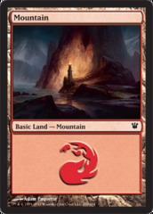 Mountain (260) - Foil on Channel Fireball
