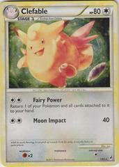 Clefable - 1/95 - Holo Rare - Reverse Holo on Channel Fireball